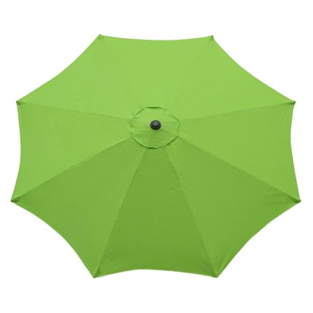 International Concepts Market Umbrella, 9', Steel Pole, Lime Green ()
