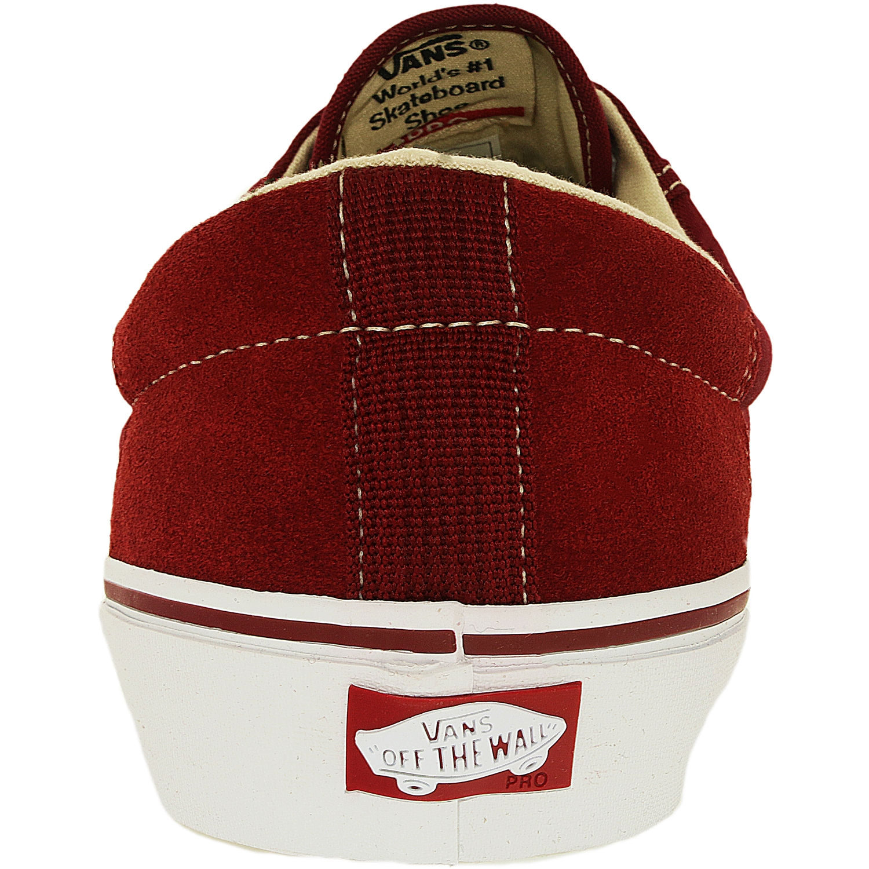 Vans Men's Rowley Biking Biking Red Ankle-High Fashion Sneaker - 8M