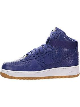 72c1d8a09eb104 Product Image Nike 654440-501  Women s Air Force 1 Hi Prm Dk Purple Dust  Basketball Shoe