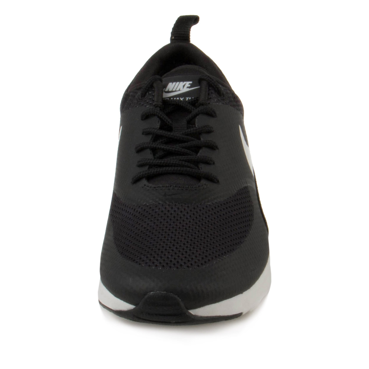 Nike Women's Air Max Thea Black / Summit White Ankle-High Running Shoe - 8.5M