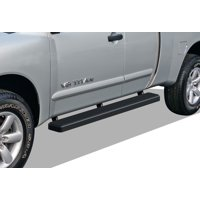 iBoard Running Board For Nissan Titan Extended Cab 2 Full + 2 Suicide Doors