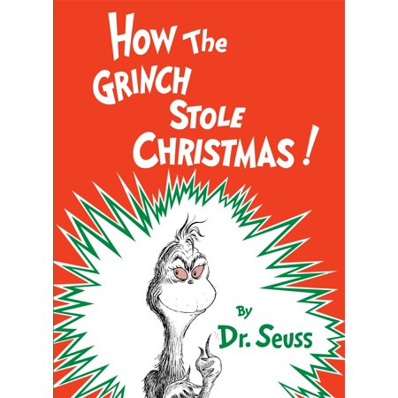 The Grinch Who Stole Christmas Book.How The Grinch Stole Christmas Hardcover