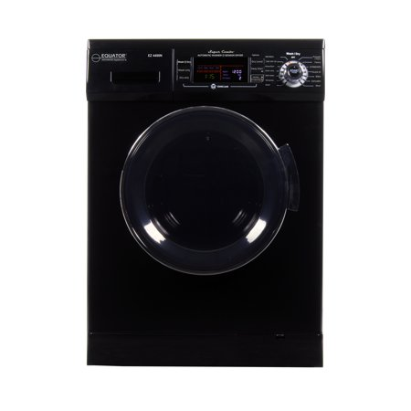 All-in-one 1200 RPM New 2019 Version Compact Convertible Combo Washer Dryer with Fully Digital Control Panel in (Best Washer And Dryer In One)