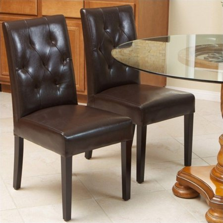 Trent Home Rockwell Dining Chair in Brown (Set of 2) ()