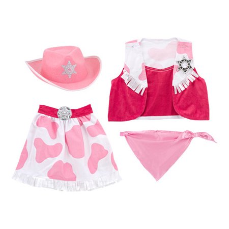 Children's Melissa & Doug Cowgirl Role Play Set for $<!---->