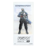 Overwatch 3-Inch Collectible Enamel FiGPiN Wave 1 - Soldier 76