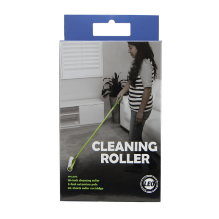 Leo Cleaning Roller with extension pole