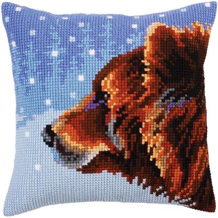RTO CD5305 Needlepoint Cushion Kit - Bear - image 1 de 1