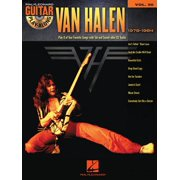 Van Halen 1978-1984 : Guitar Play-Along Volume 50