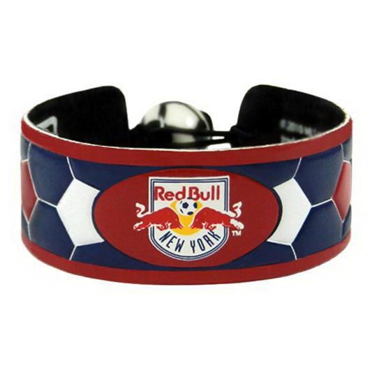 Gamewear New York Red Bulls Team Color Soccer Bracelet
