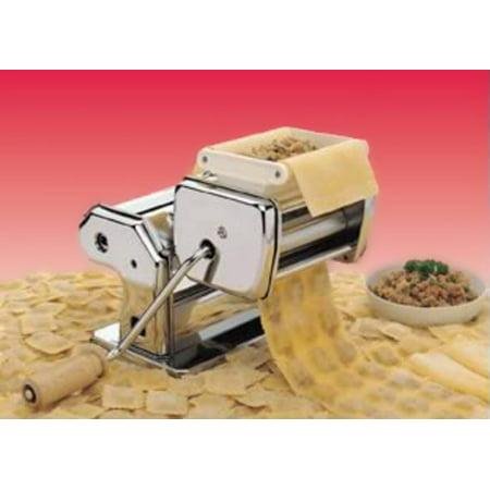 CucinaPro 150-25 Pasta Maker Ravioli Attachment- Stainless Steel Ravioli Maker Mold (Pasta Maker Accessories)