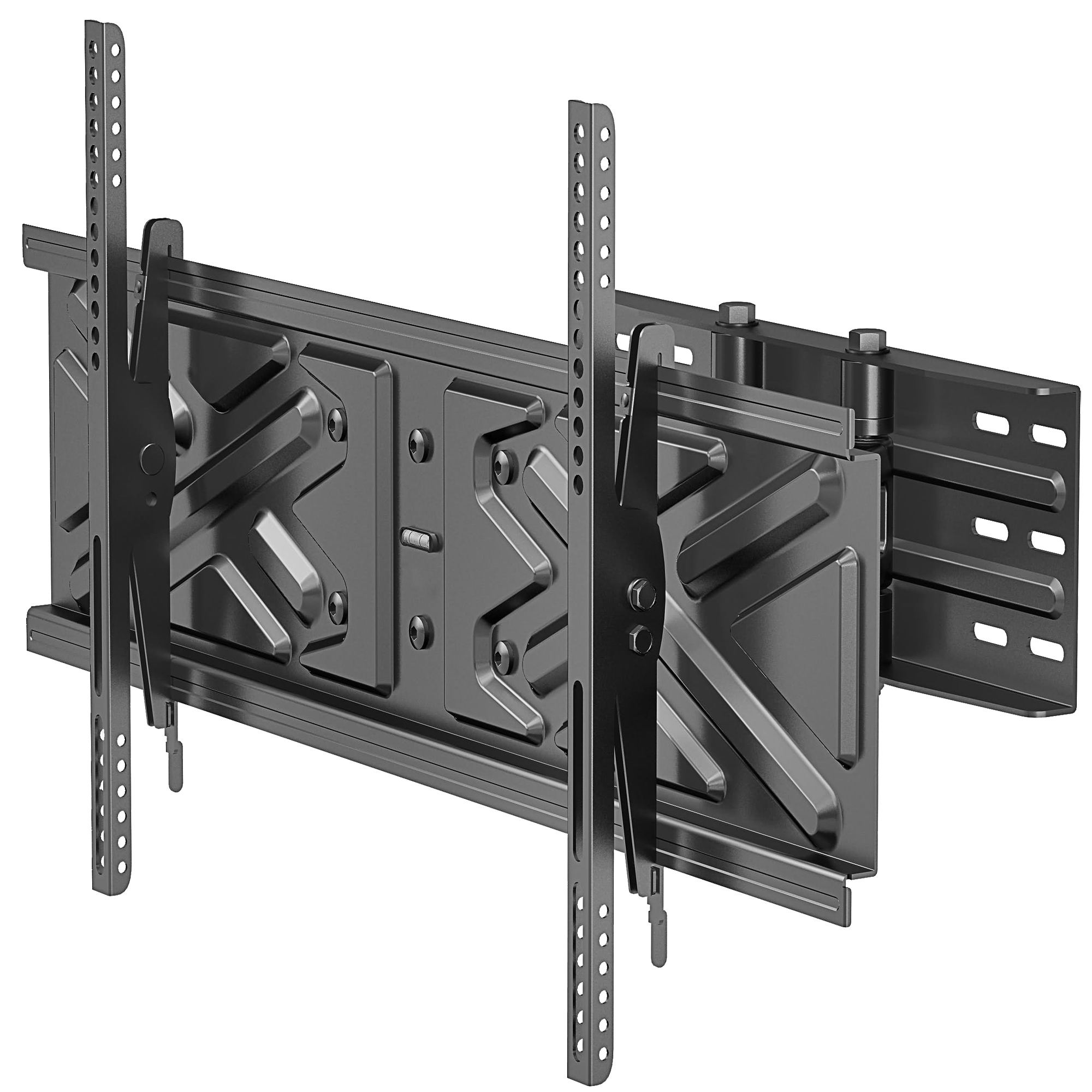 "Level Mount Mounting Arm for Flat Panel Display - 37"" to 75"" Screen Support - 150.00 lb Load Capacity - Steel - Matte Black"