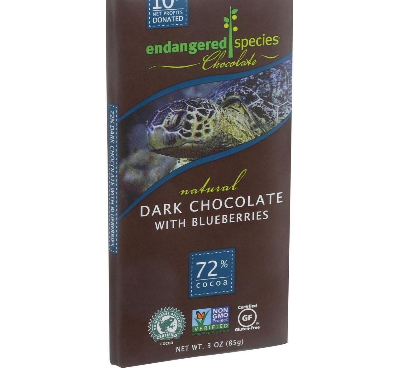 12 Packs : Endangered Species Natural Chocolate Bars - Da...