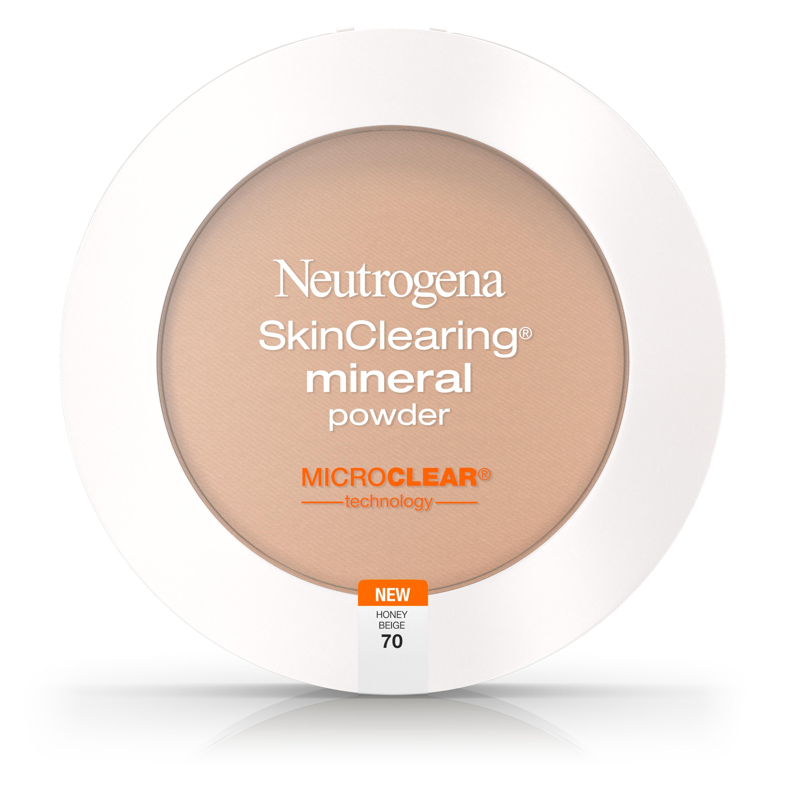 Neutrogena Skinclearing Mineral Powder, Classic Ivory 10,.34 Oz