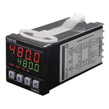 Novus N480d Temperature Controller 1 16 Din
