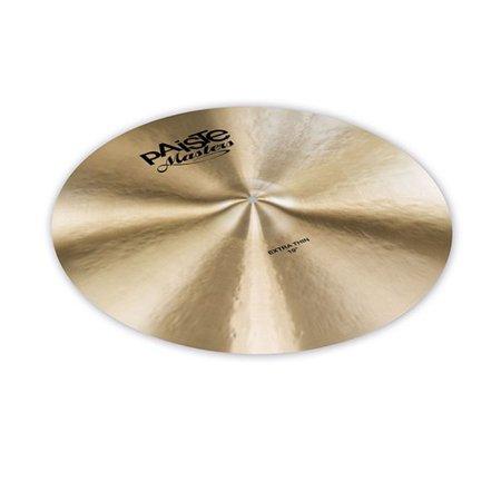 Paiste Traditional Thin (Paiste Masters Extra Thin Crash Ride Cymbal (19