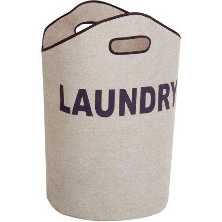 Honey Can Do Open Laundry Hamper with Sturdy Foam Interior, Multicolor ()