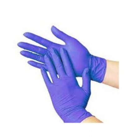 Powder Free Non Latex Blue Nitrile Exam Medical Gloves X Large 3 5 Mil 100 Pieces