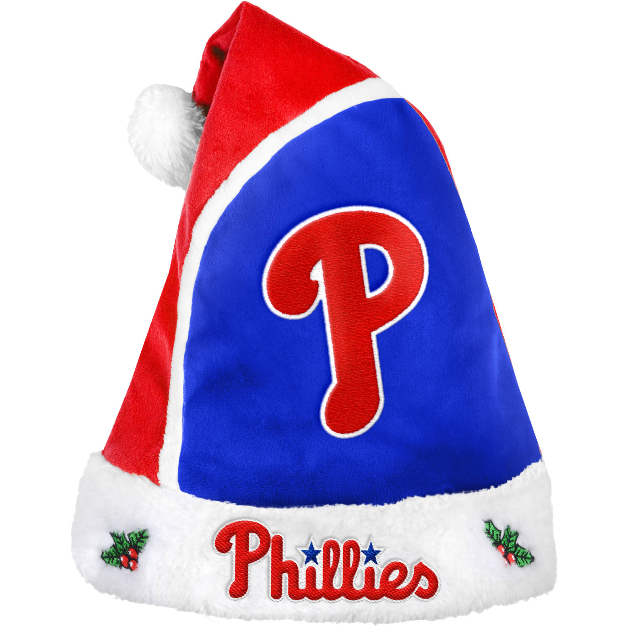 Forever Collectibles MLB 2015 Santa Hat, Philadelphia Phillies