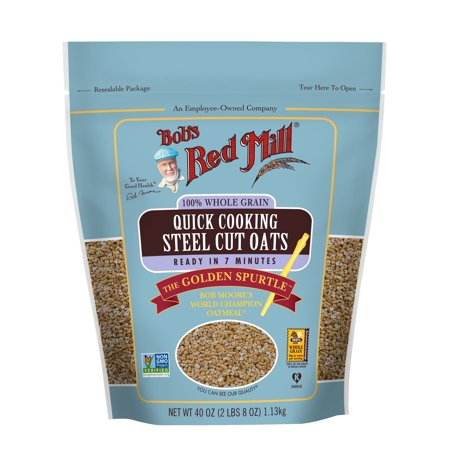 Bob's Red Mill Steel Cut Oats, Quick Cooking, 40 Ounce ()
