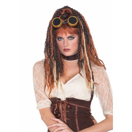 Steampunk Havoc Dreads Costume Wig Adult One Size - Wig Dreads