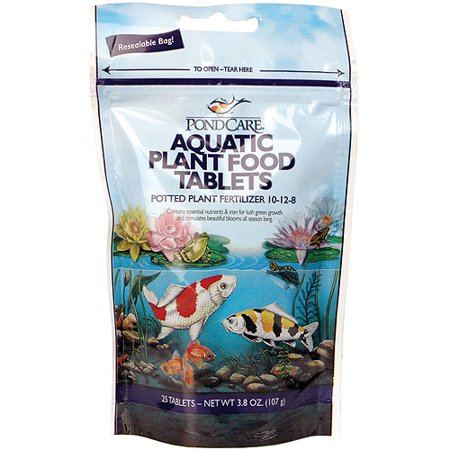 Pondcare 185A 25 Count Aquatic Plant Food Tablets