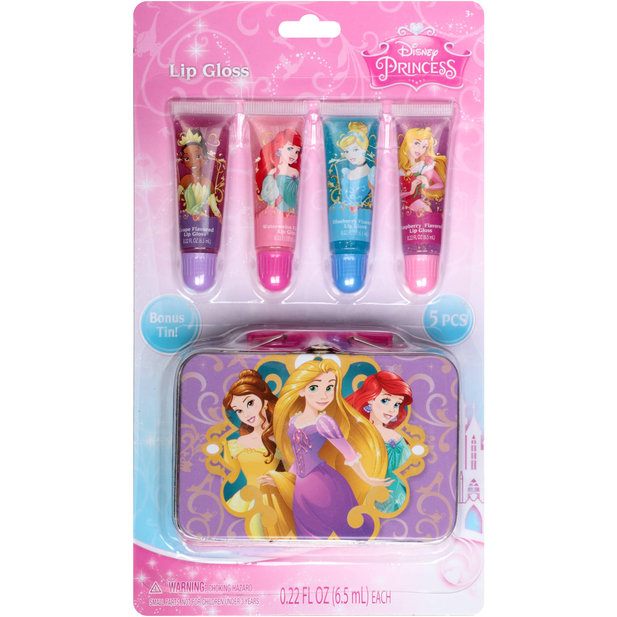 Disney Princess Lip Gloss Set, 5 pc