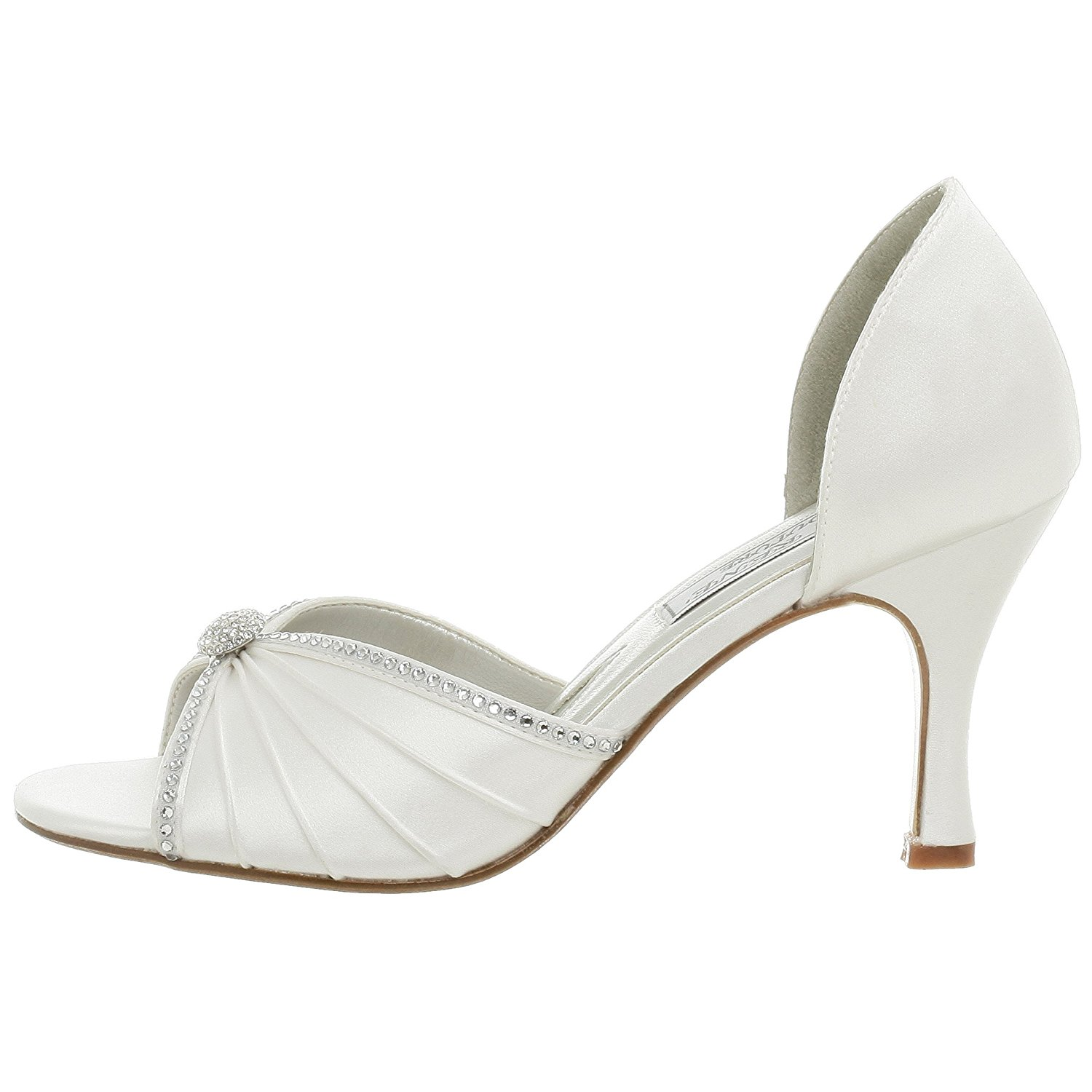 Liz Rene Couture Addison Women's White Sandal 5M by Liz Rene Couture