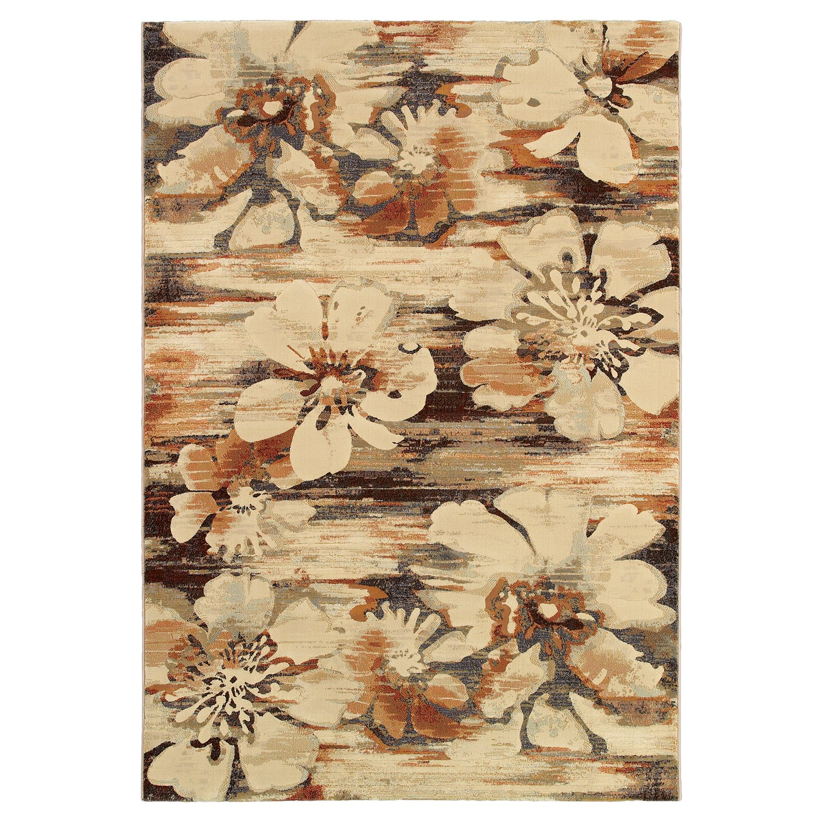 Couristan Easton Mosaic Florals Rug, Multi-Colored