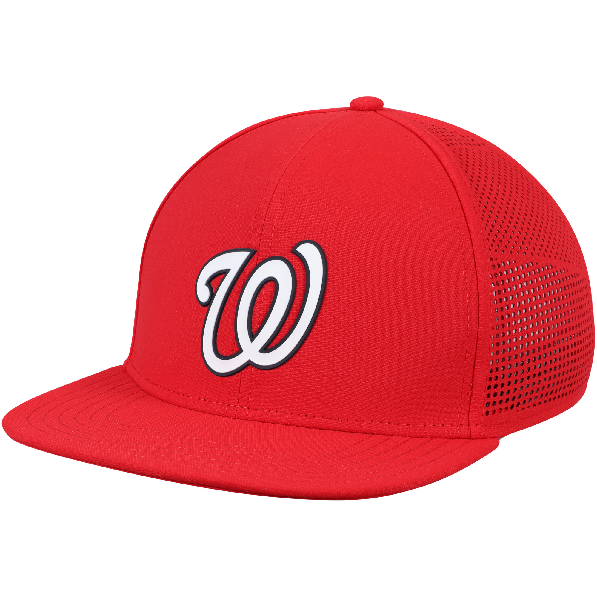 Washington Nationals Under Armour Supervent Snapback Adjustable Hat - Red - OSFA
