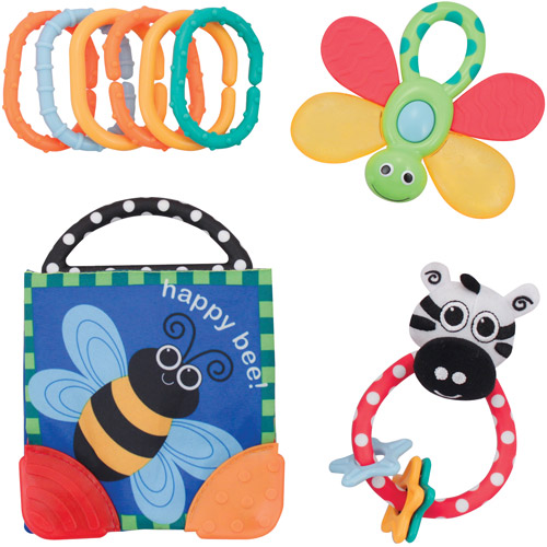 Sassy - Rattle and Teether Gift Set