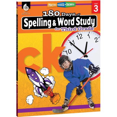 Halloween Spelling Words Grade 3 (180 Days of Practice: 180 Days of Spelling and Word Study for Third Grade (Grade 3): Practice, Assess, Diagnose)