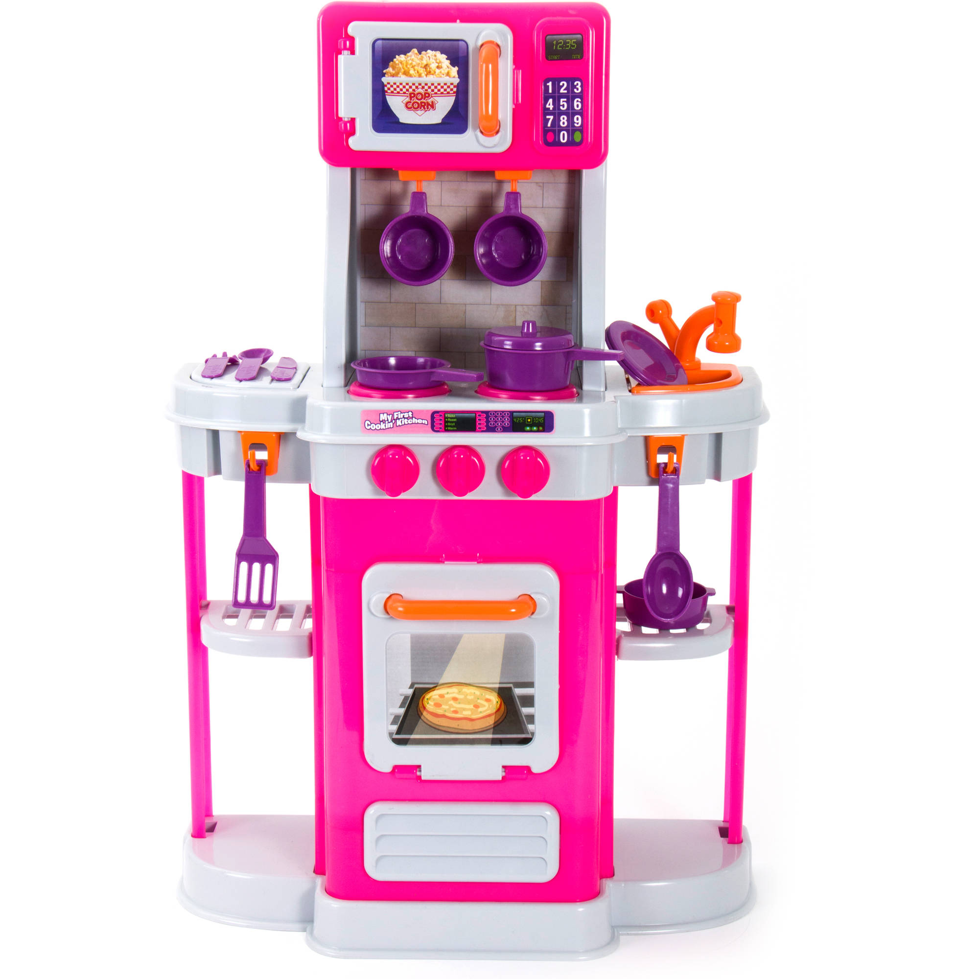 Spark Kitchen Play Set 18pc Walmart Com
