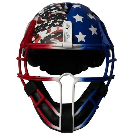Worth Legit USA Border Battle Softball Pitchers Mask