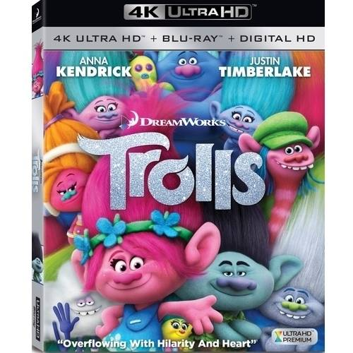Trolls (4K Ultra HD + Blu-ray + Digital HD)