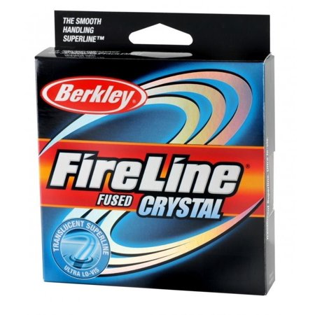 Berkley Fireline Fused Crystal Superline 300 Yd spool(14/6-Pound,Crystal)