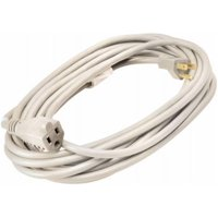 02352ME01 20 ft. White Outdoor Extension Cord