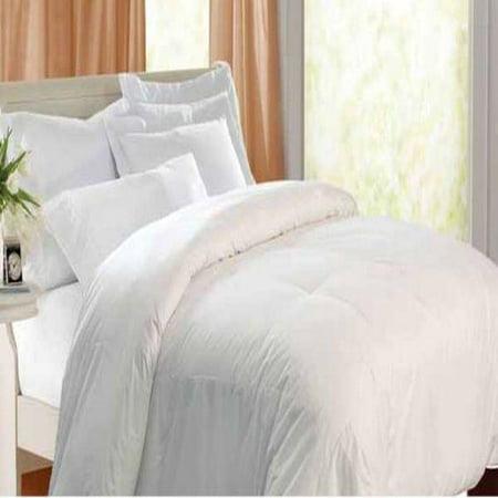 kathy ireland Home kathy ireland Eco Unbleached Cotton Down Comforter Eco Friendly Comforter