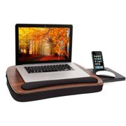 Sofia+Sam Multi Tasking Memory Foam Lap Desk, Wood Top