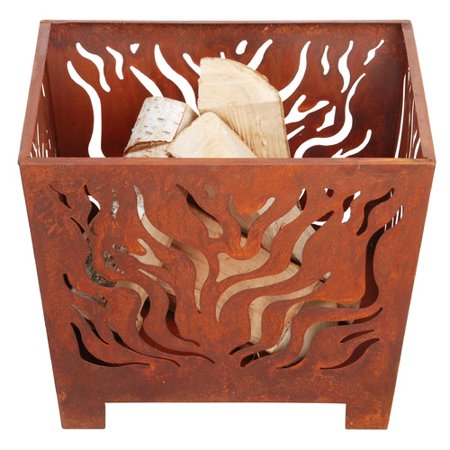 EsschertDesign Laser Cut Steel Wood Burning Fire