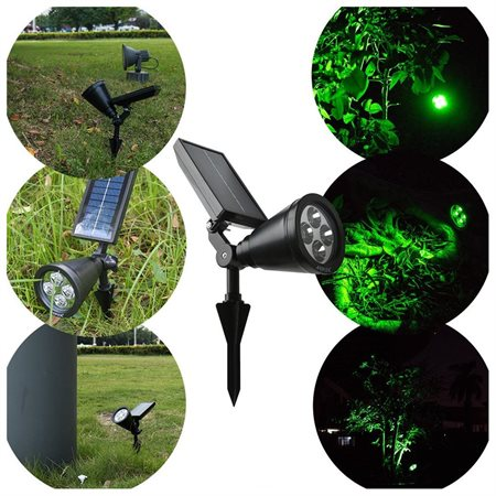 Image of 12PCS 180 Degree Bright Solar LED Light Rechargeable Waterproof Solar Powered Spotlight For Garden/Home