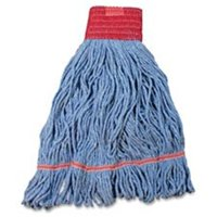 Impact Products IMPL270LGCT Cotton & Synthetic Loop End Wet Mop, Blue 12 Per Carton by Impact Products LLC