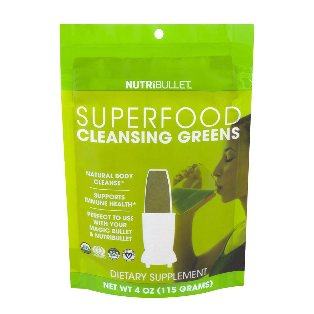 Nutribullet Cleansing Greens Superfood Powder, 4.0 Oz