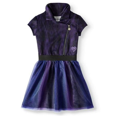 C Themed Dress Up (Descendants 3 Graphic Vest Tutu Dress (Little Girls & Big)