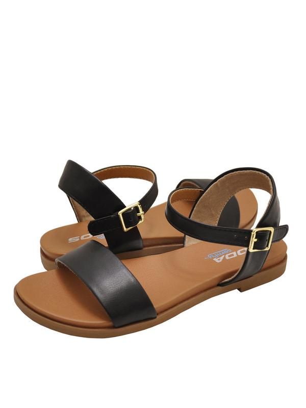 Soda Meadow Womens Open Toe Sandals