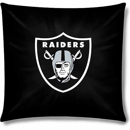 "Raiders Official 15"" Toss Pillow"