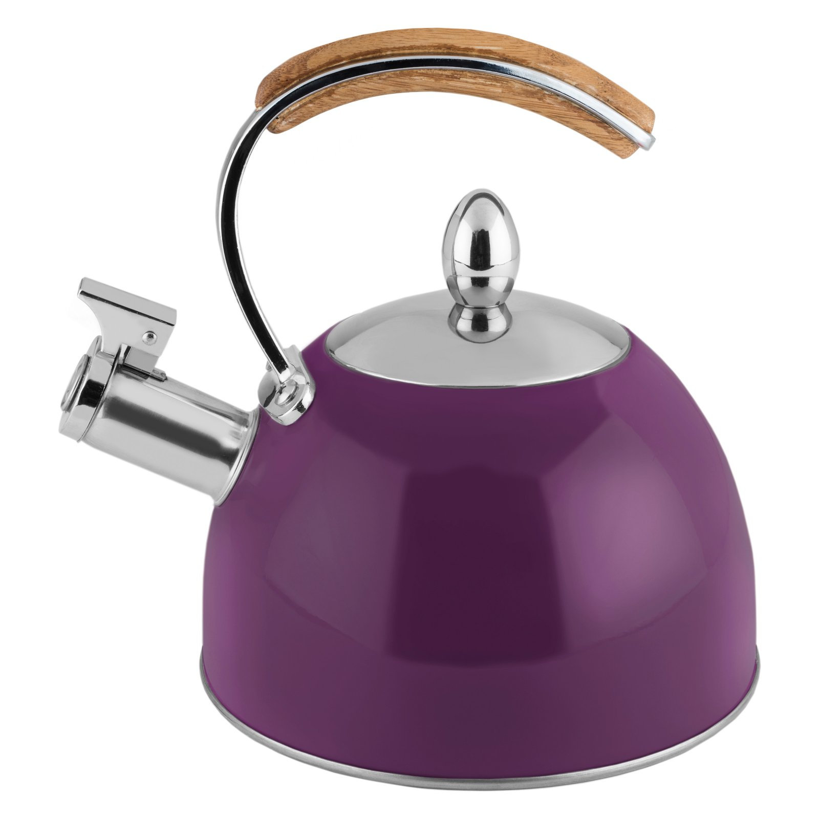 Pinky Up 5880 Presley Plum Tea Kettle by Pinky Up Multi Colored