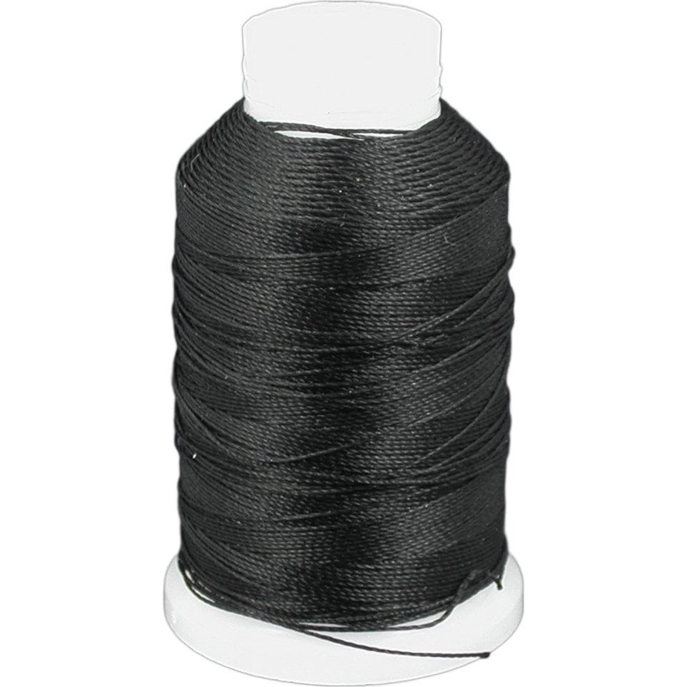 Black Beadsmith Nylon Beading Thread Cord Sz E 190yds