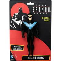 NEW BATMAN ADVENTURES-NIGHTWING 5 INCH BENDABLE