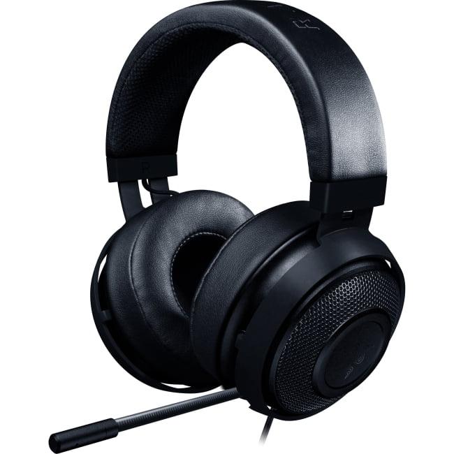 Razer Kraken Pro V2 Oval Ear Cushions Analog Gaming Headset for PC, Xbox One and Playstation 4, Black by Razer